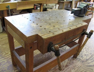 Workbench For Chair Makers And Bowl Carvers